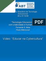 ABT Congresso Brasileiro de Tecnologia Educacional - RJ/ 30/10/08
