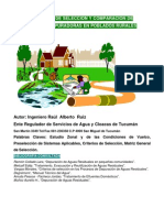 Criterios de Seleccion y Comparacion de Plantas Depuradoras en Poblados Rurales