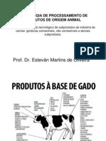 Tecnologia de Process Amen To de Produtos de Origem Animal VII