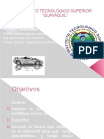 Sustentacion Aerodinamica en Vehiculos de Turismo