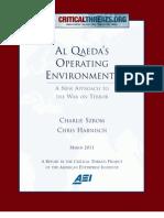 Al Qaeda's Operating Environments Report