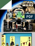 LEGO Jabbas Palace Instruction Manual 4480