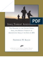Iraq Threat Assessment