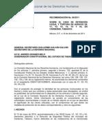 Recomendación 86 2011 CNDH