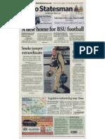 Oct 15, 2011, Idaho Statesman Front Page