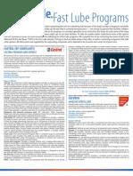 Fast Lube Program Guide 2012