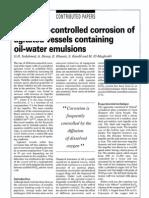 Diffusion Controlled Corrosion