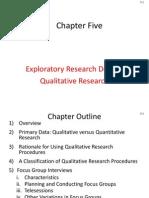 Exploratory Research Design Qualitative