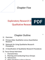 Exploratory Research Design Qualitative