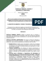 Res 1023 de 2010 Adopta Pro RUA