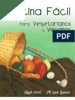 Cocina fácil - Comida Vegetariana