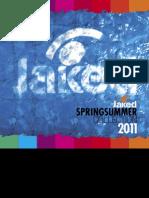 Catalogo Jaked Spring Summer 2011