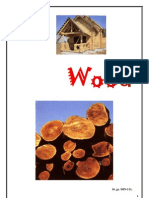 Wood is a hard