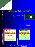 Planeamiento Estratégico - Sesión 6