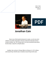 Jonathan Cain Report