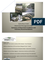 Santa Rosa Creek Watershed Managemtne Plan