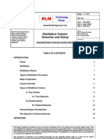 Engineering Design Guidelines -Distillation Column Selection n Sizing - Rev 03 Web