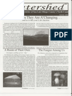 Summer 2002 Watershed Newsletter, Cambria Land Trust