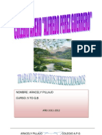 Trabajo Compu Arito(La Ecologia y El Medio Ambiente)