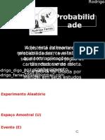 Probabilidade - Rodrigo Farias
