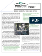 February 2006 Greenspace Insider, Cambria Land Trust
