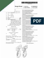 Locking swivel hook (US patent D649018)