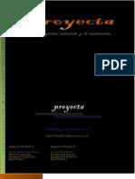 Catalogo de Servicios Industrial Proyecta 2012
