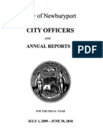 FY2010 Newburyport Annual Report