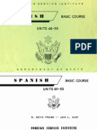 FSI Spanish Basic Volume 4