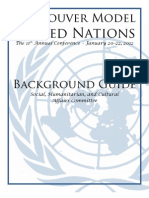 The Rights of Women in Developing Nations - Social, Cultural and Humanitarian Affairs