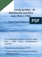 Controversia Juridica Maritima Peru-Chile