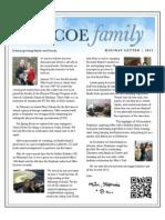 Pascoe Christmas Letter | 2011