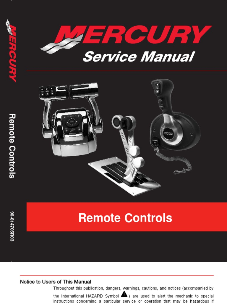 Merc Controls Newest Manual   Electrical Connector   Screw