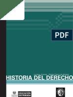Historia Del Derecho Completo
