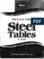 Indian Steel Table