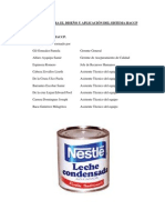 Haccp Leche Con Dens Ada Nestle