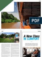 Explorer Magazine features Kamu Lodge