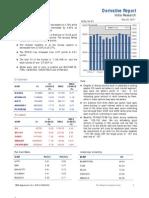 Derivatives Report 22nd December 2011