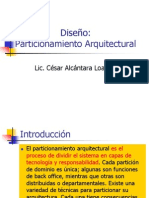 Sesion 7_1 Diseño - Particionamiento Arquitectural