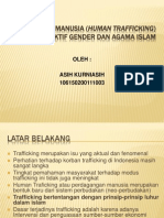 Perdagangan Manusia (Human Trafficking) Dalam Perspektif Gender dan Agama Islam