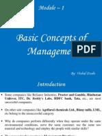 Module – 1 management