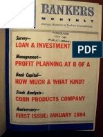 Bankers Monthly January 1884 (Reprint1964)