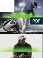 2012 Callaway / Odyssey Product Catalog