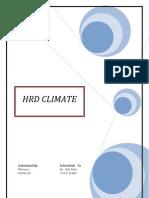 HRD Climate