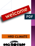 HRD CLIMATE PPT