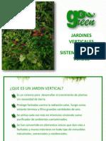 Sistema de Muros Verdes