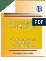 2009 vol2 L'Institut Economique Roumain (I.E.R.)