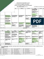 Class Schedule Term-Vi 4717 2011-12