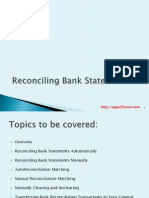 R12 Reconciling Bank Statements