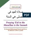 Praying Eid in the Musallah by Shaikh al-Albaani